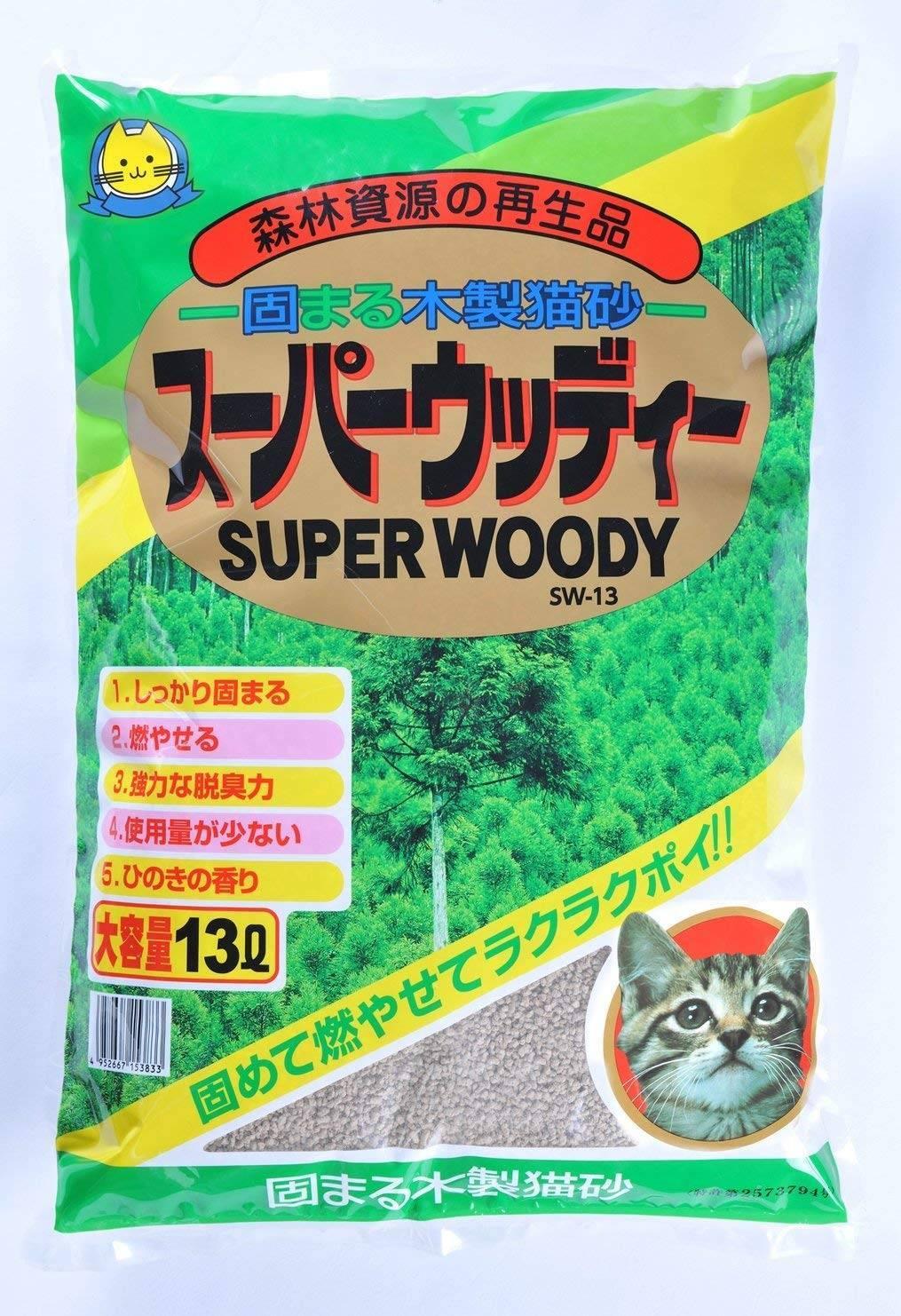 Японские наполнители для кошачьего туалета