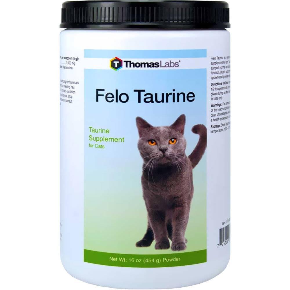 Вред и польза таурина для кошек: что это такое, в каких продуктах, кошачьих кормах и витаминах содержится?