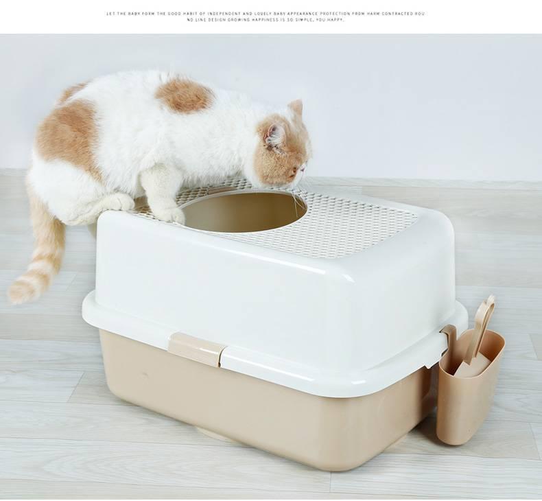 Лоток для кошек - обзор изделий с описанием размеров, материалов изготовления и особенности конструкции