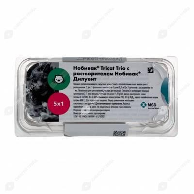 Нобивак трикет трио / nobivac tricat trio (вакцина) для кошек | отзывы о применении препаратов для животных от ветеринаров и заводчиков
