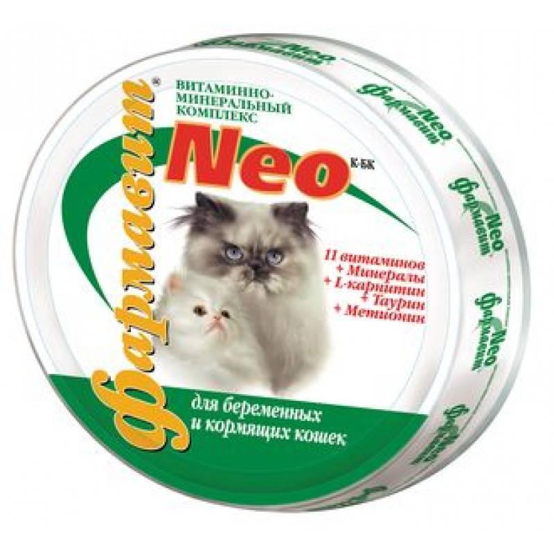 Витамины для беременных кошек