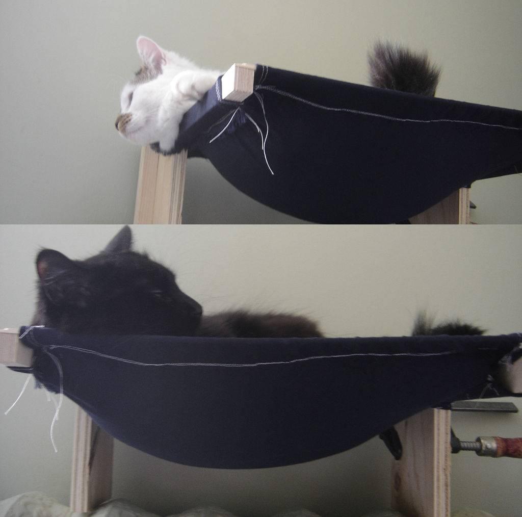 Готовые выкройки и шитье кошачьей лежанки собственноручно