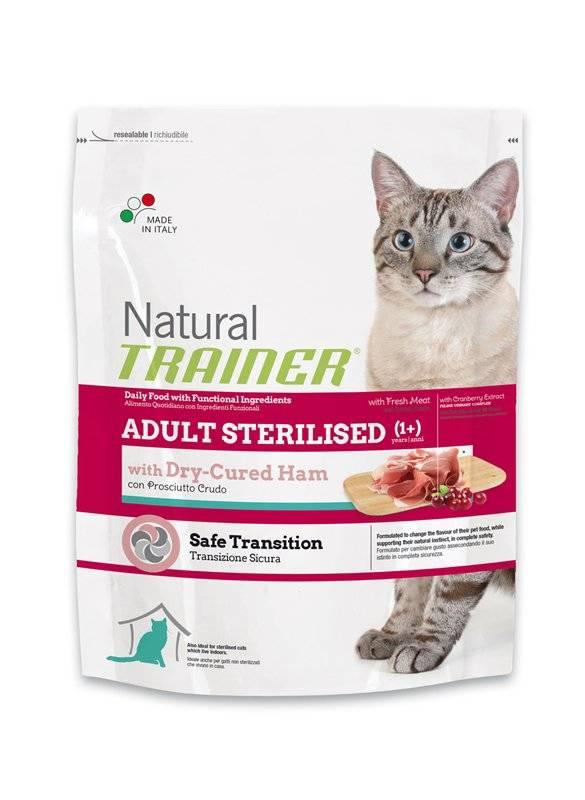 Корма холистик для стерилизованных кошек