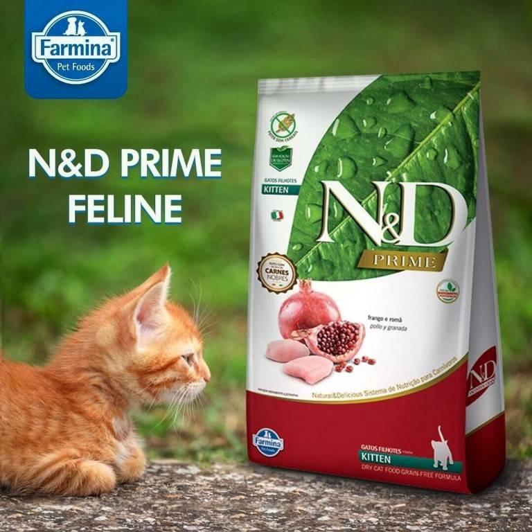 Farmina n&d корм для кошек: отзывы, где купить, состав