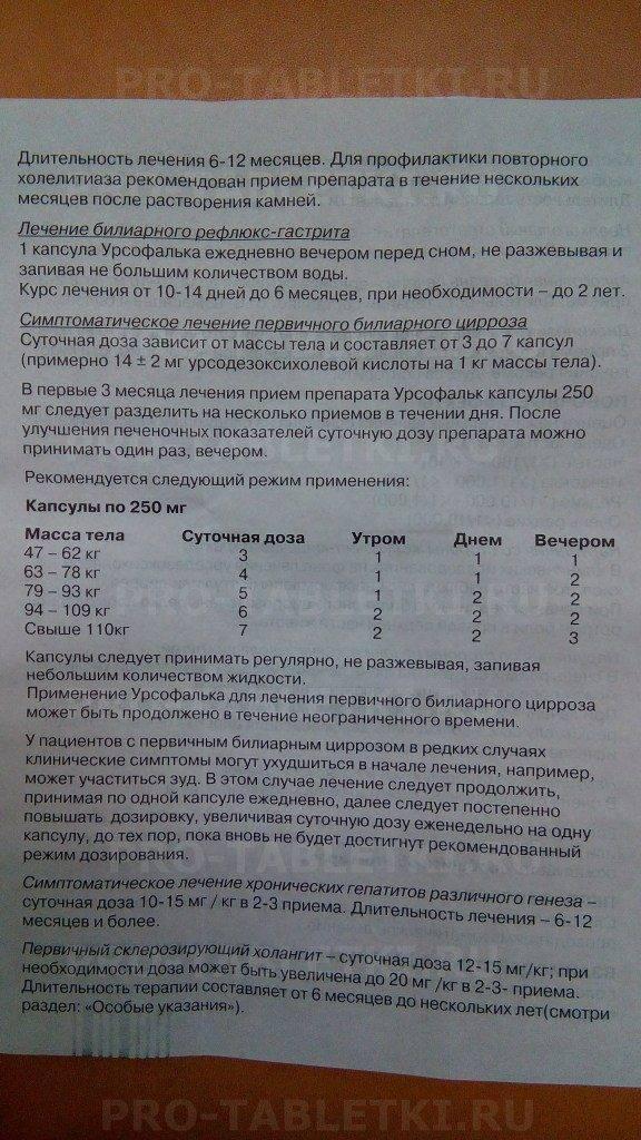Урсофальк: инструкция по применению для новорожденных, дозировка, цена, отзывы