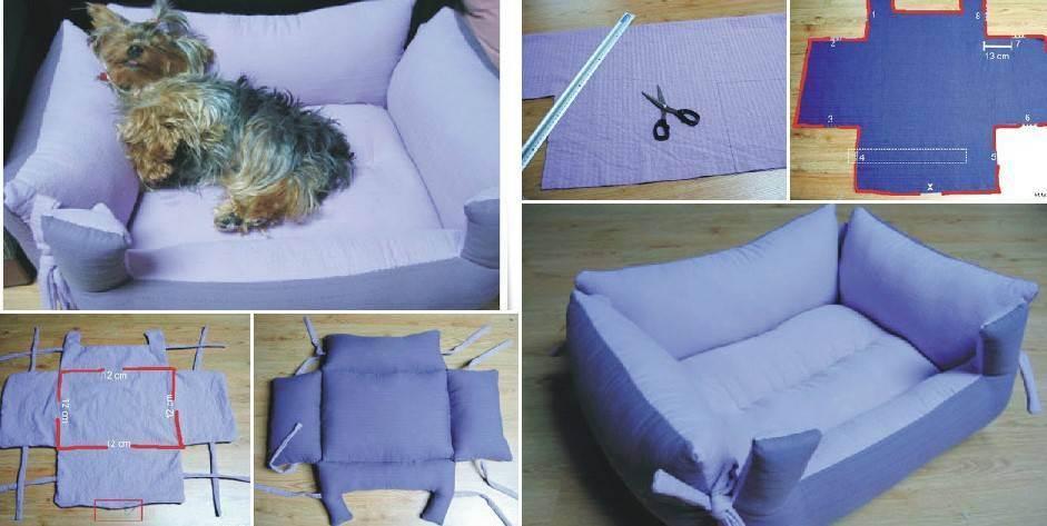 Делаем лежак для кошки своими руками ( + фото)