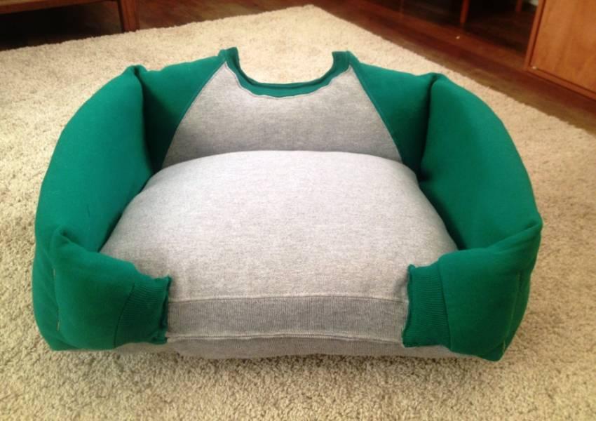 Лежанка для кошки своими руками: пошаговая инструкция, как сшить удобное спальное место