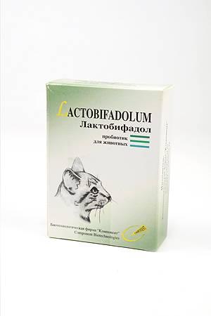 Особенности применения лактобифадола для собак