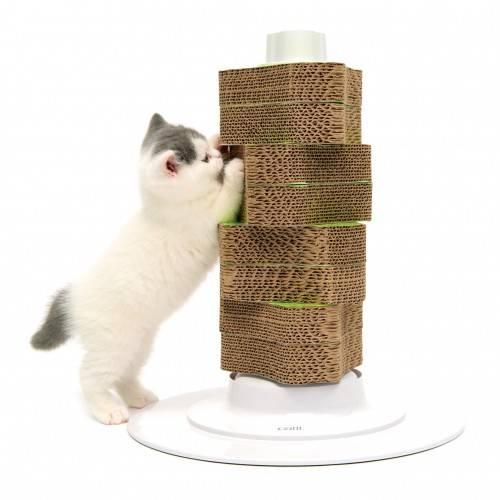 Как приучить кота к когтеточке в квартире быстро