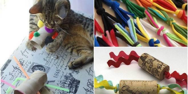 Изготовление игрового комплекса для кошек своими руками