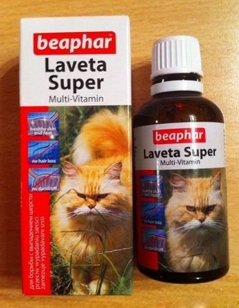 Витамины для кошек от выпадения шерсти: как выбрать