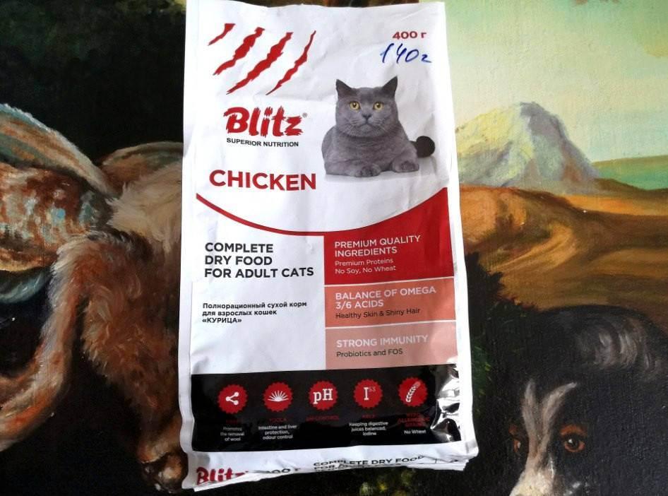 Blitz — корм для кошек