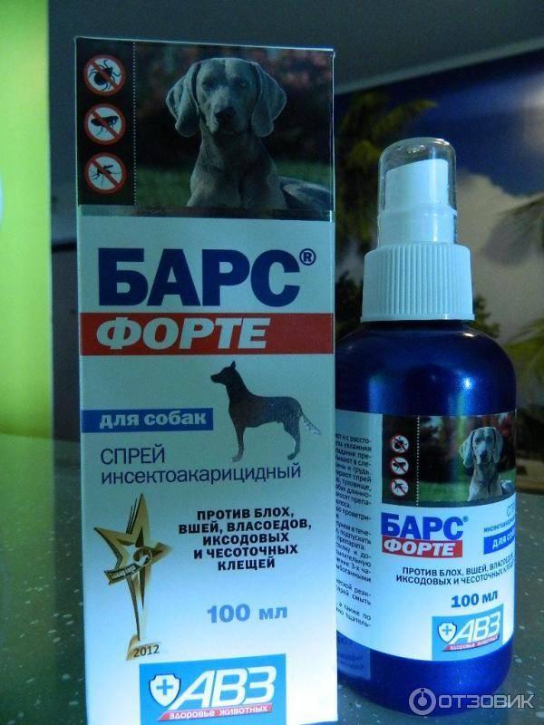 Спрей барс от блох для кошек и собак