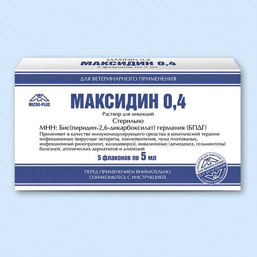 """""""максидин"""" для кошек и собак - инструкция лекарства и отзывы"""