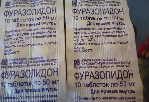 Фуразолидон котенку от поноса: инструкция, дозировка
