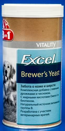 """Витамины """"8 в 1"""" для кошек и котят """"Brewers Yeast With Garlic"""" линейки """"Excel"""""""
