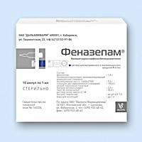 Феназепам – инструкция по применению, аналоги, дозы, показания