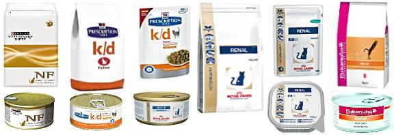 Чем кормить кошку при почечной недостаточности?