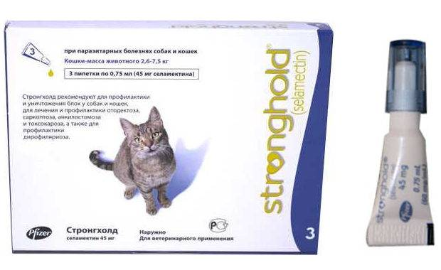 Стронгхолд для кошек и котят