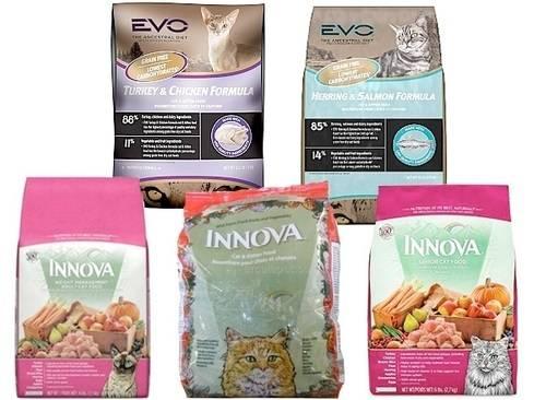 Сухой корм для кошки innova evo