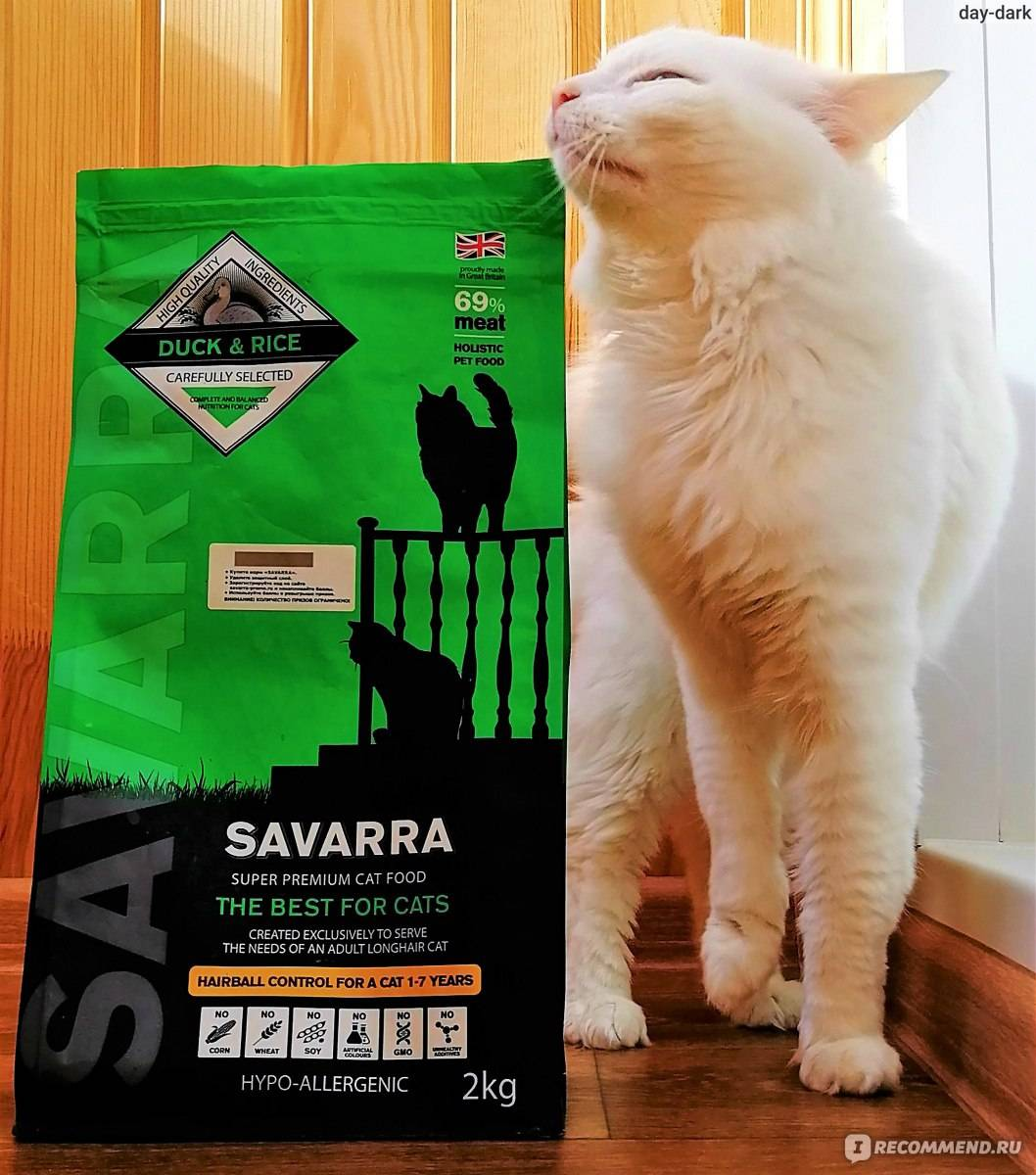 Корм для кошек савара (savarra): обзор, виды, состав, отзывы