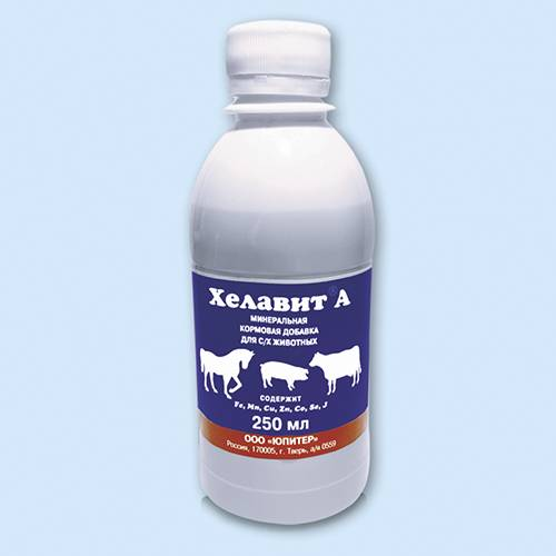 Лекарственный препарат «хелавит»: применение в ветеринарии