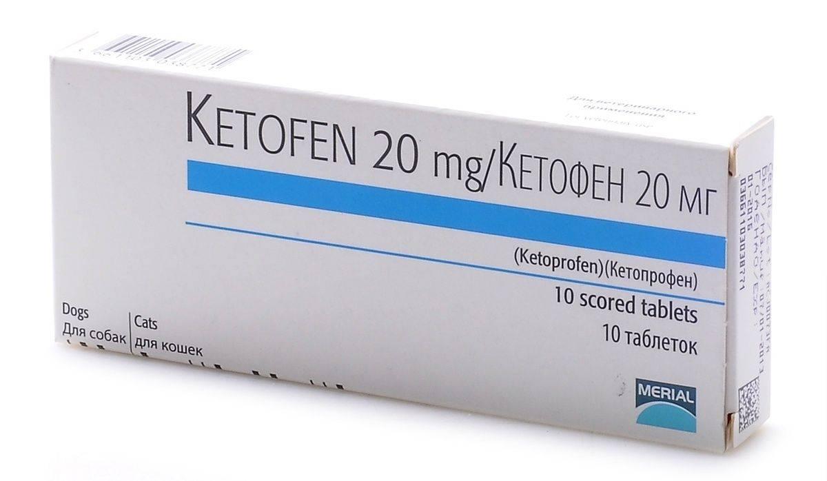 «кетофен» (раствор для инъекций, таблетки) для собак: инструкция по применению