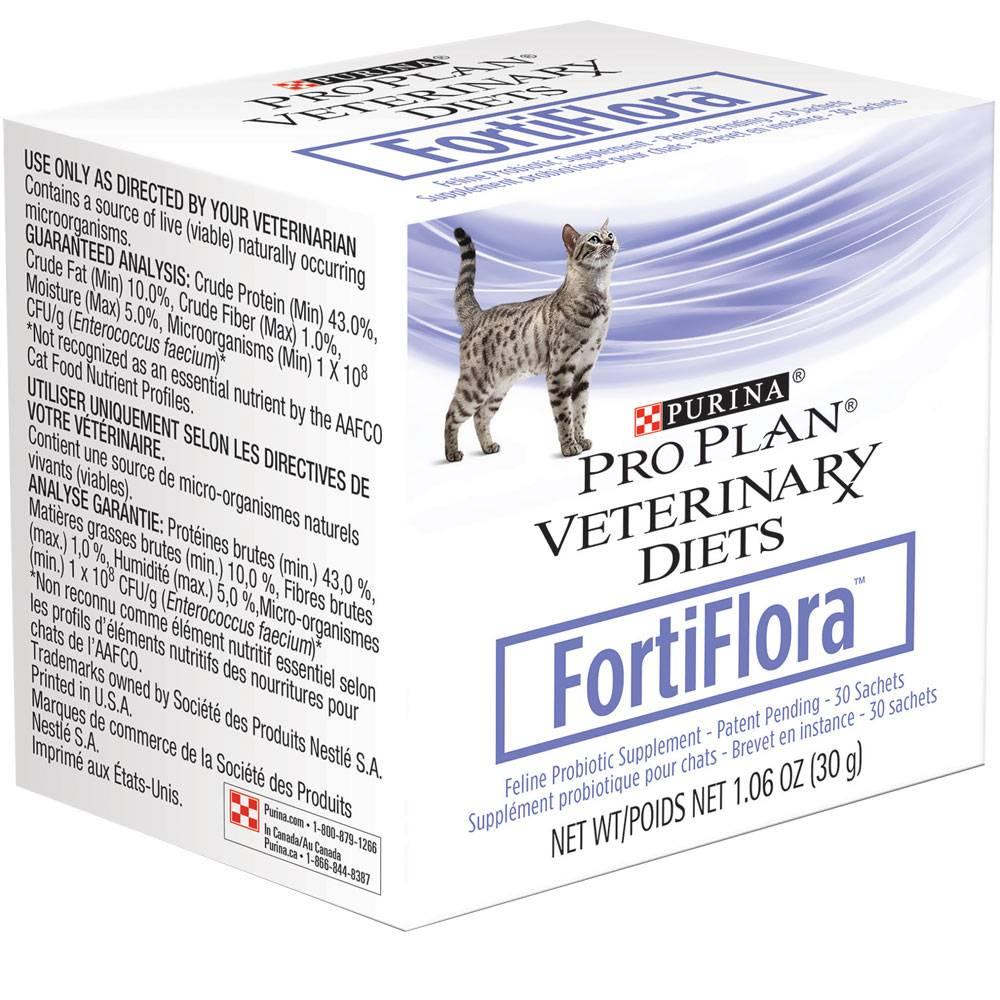 Фортифлора для собак: инструкция по применению purina pro plan veterinary diets fortiflora с дозировкой и аналогами. как давать пробиотик щенкам и где его хранить?
