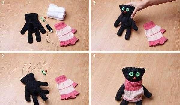 Поделка кошка — инструкция по созданию красивой поделки, мастер-класс с фото и видео