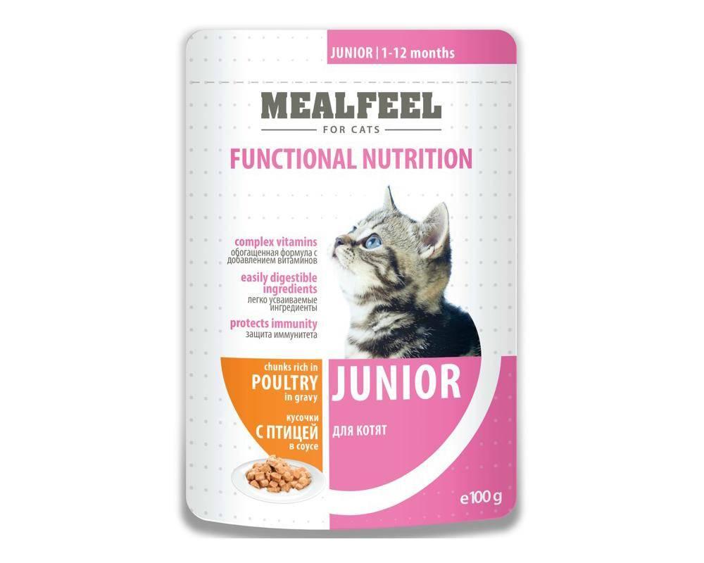 Корм mealfeel для кошек – полный разбор состава