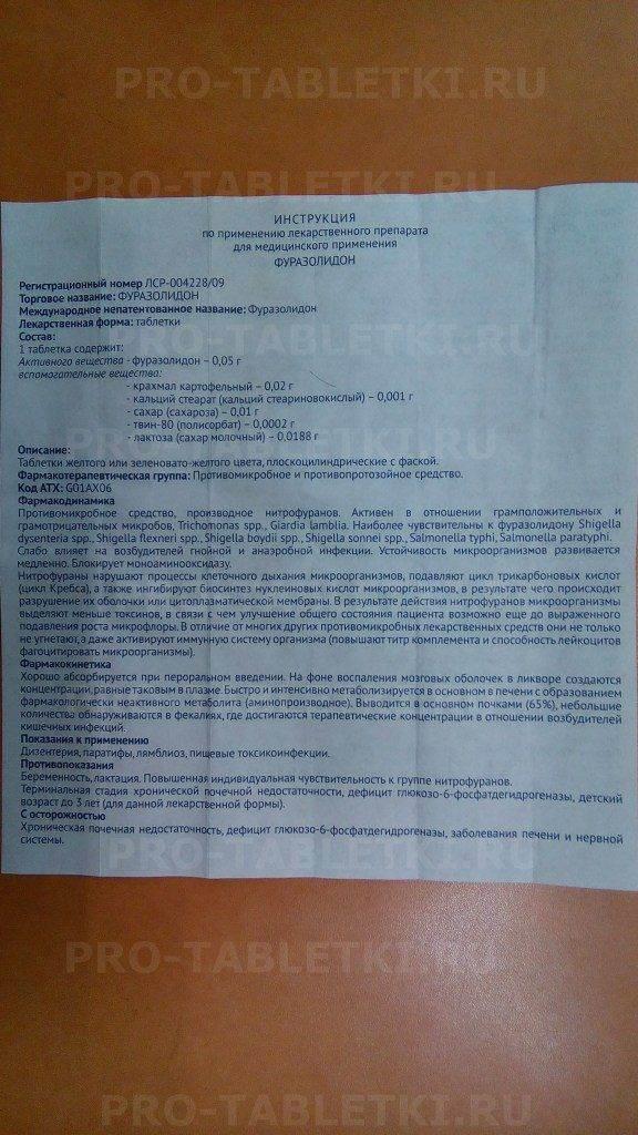 Назначение фуразолидона кошке при поносе: применение, дозировка