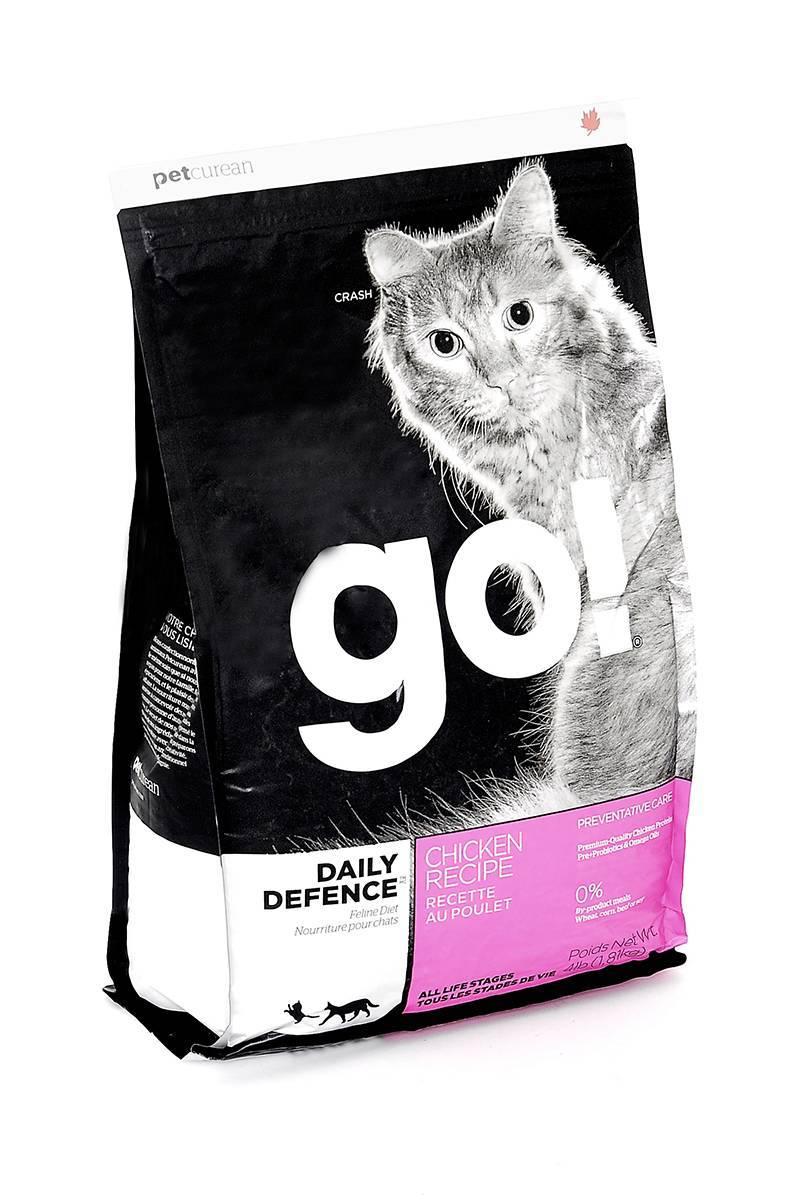 Корм «go» для кошек: разновидности, отзывы ветеринаров