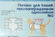 Бандаж для кошки после стерилизации своими руками