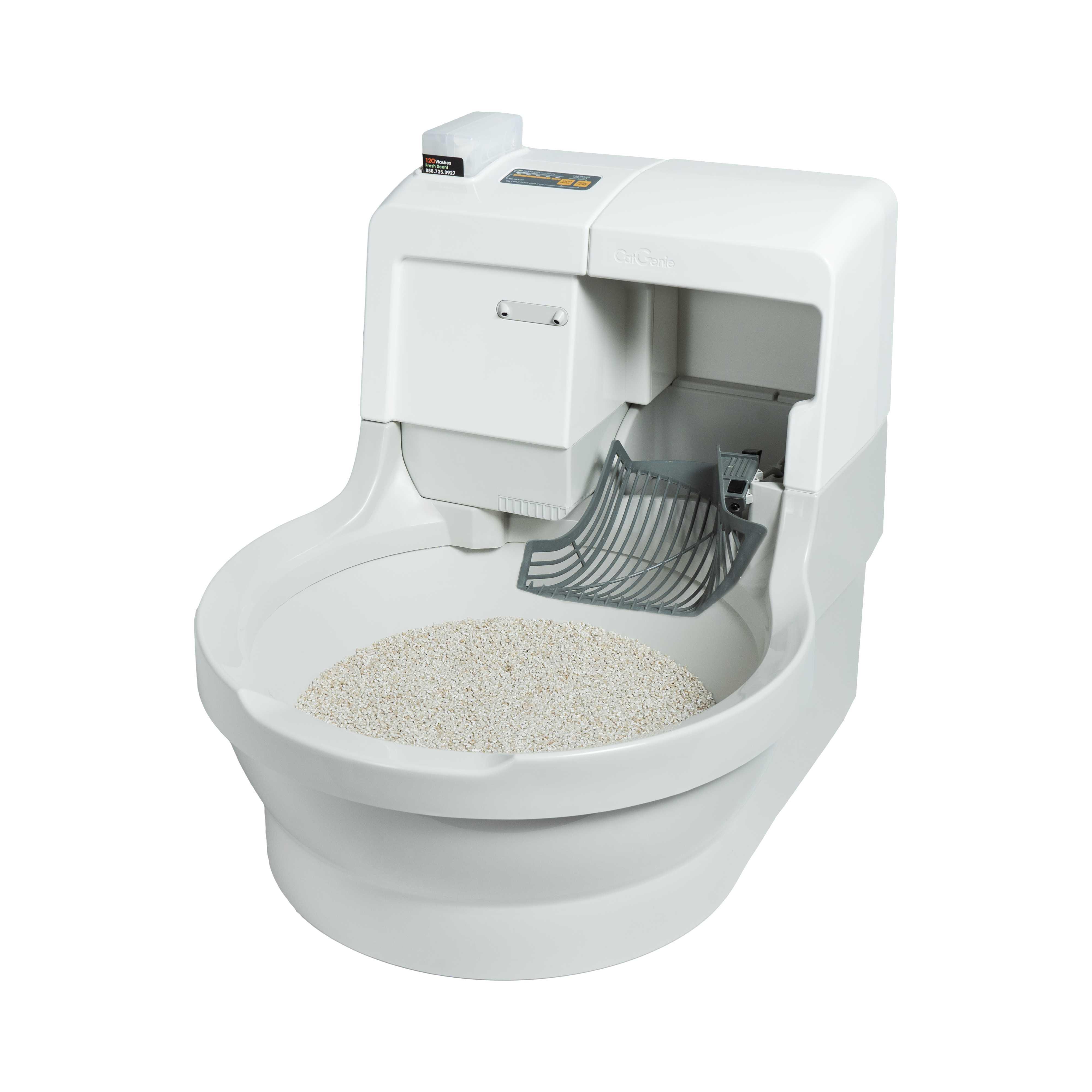 Туалет для кошек самоочищающийся: достоинства и недостатки автоматического кошачьего лотка