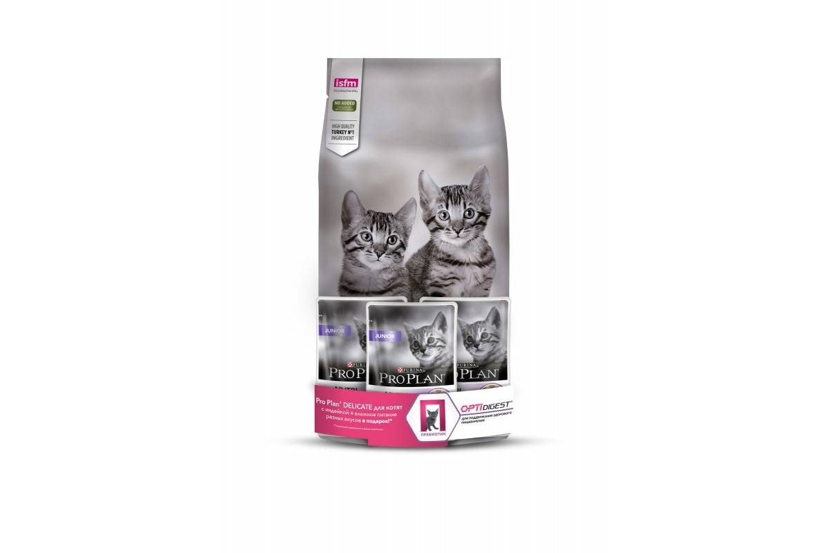 Корма для кошек с чувствительным пищеварением | сухой, отзывы