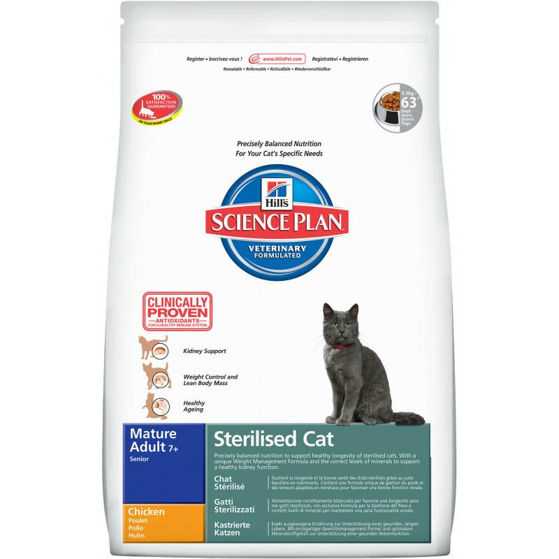 Корм для кошек mealfeel cat sterilized lamb