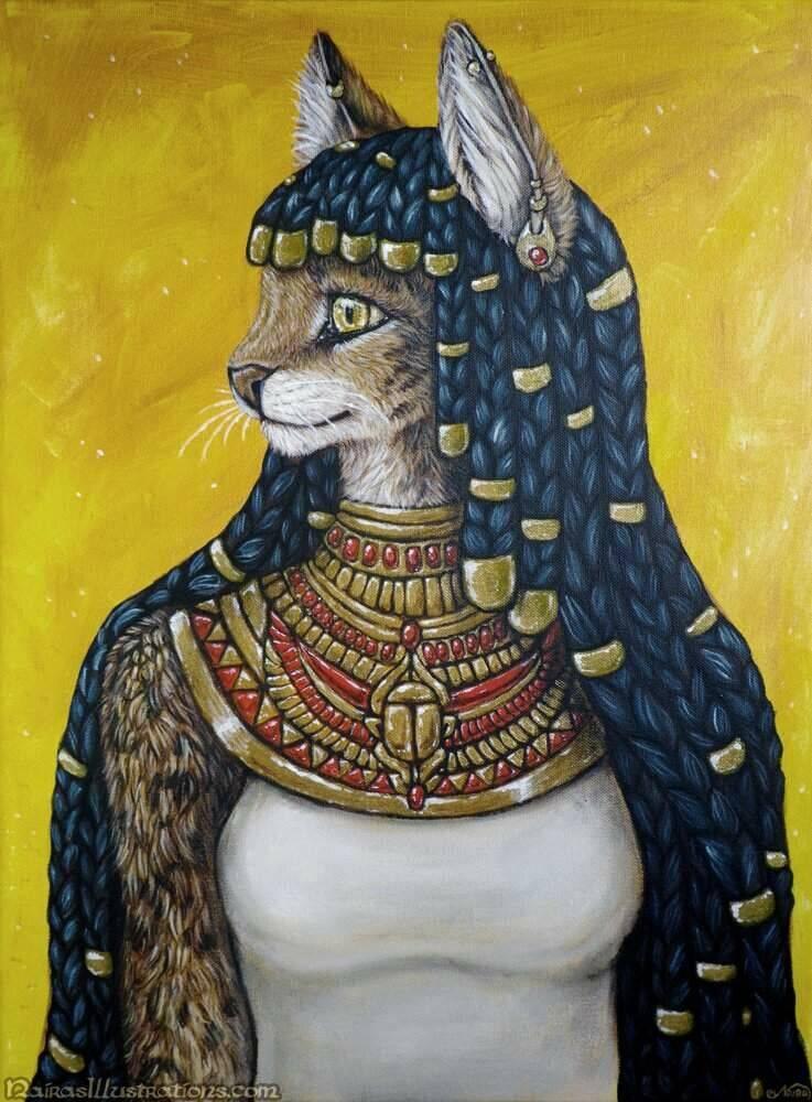 Богиня с головой кошки: экскурс в египетскую мифологию и описание культа