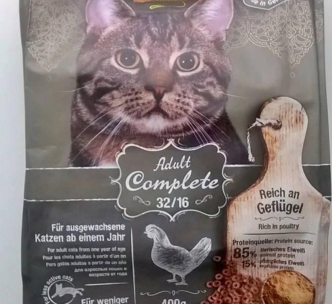 Описание корма для кошек Леонардо