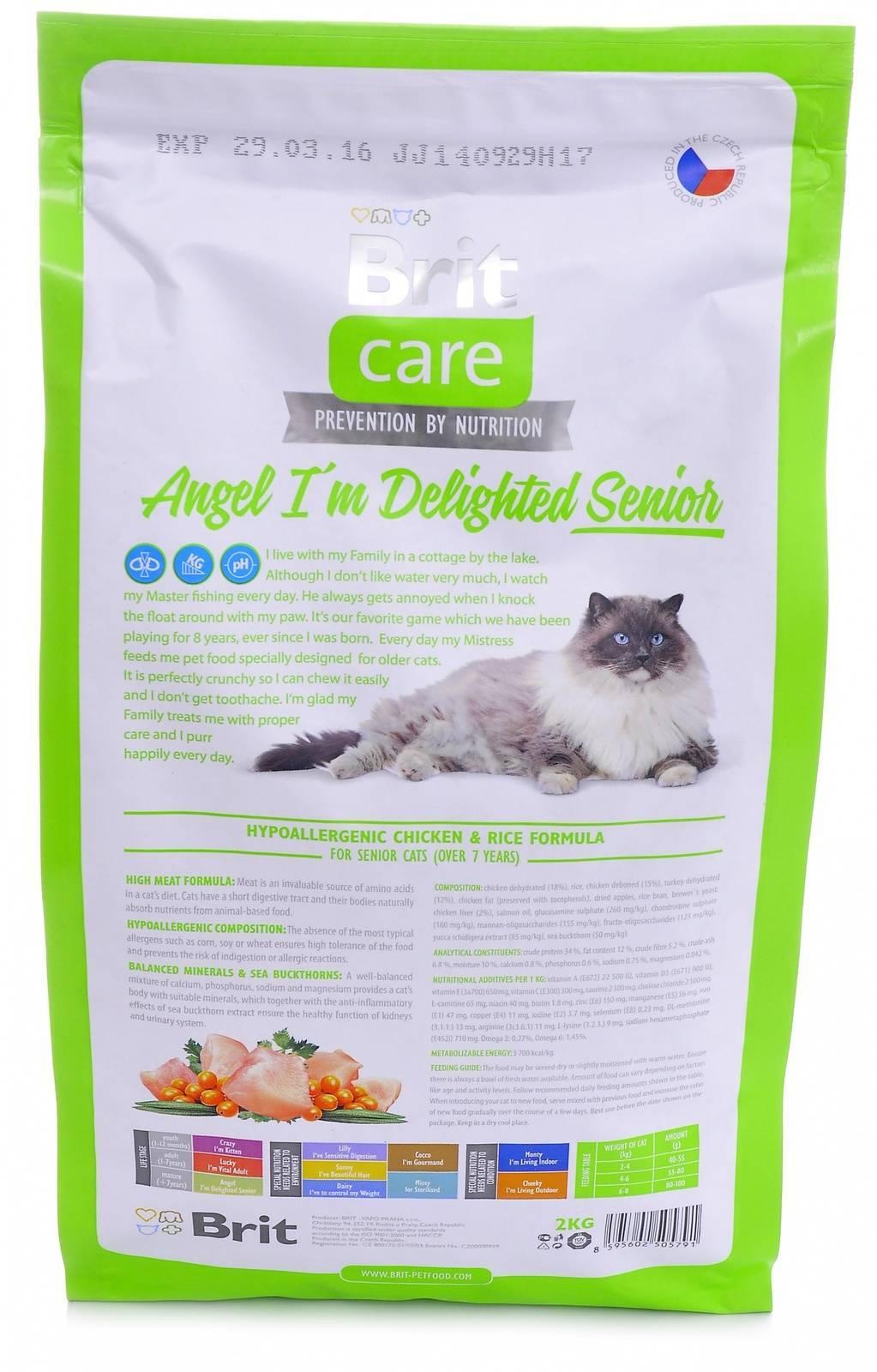 Обзор корма для кошек landor
