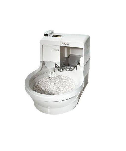 Кошачий туалет: автоматический со сливом в канализацию, самоубирающийся, сделанный своими руками