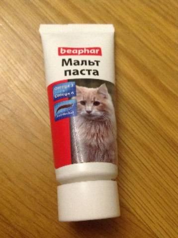 Что такое мальт-паста для кошек