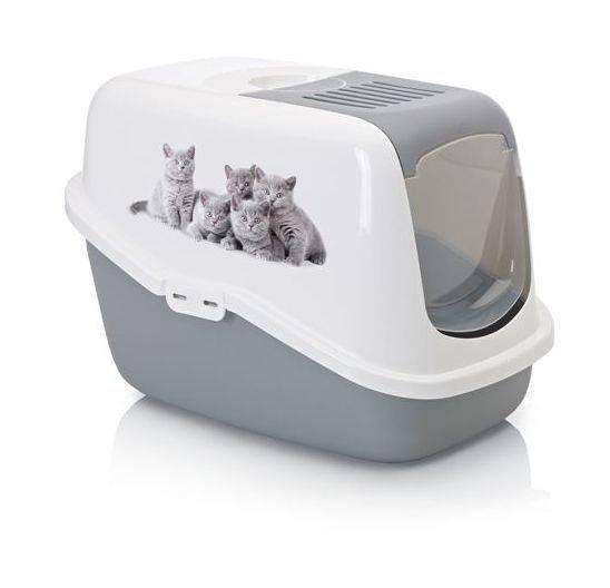 Закрытый туалет для кошек (21 фото): как выбрать большой кошачий лоток-дом с угольным фильтром для кота? отзывы владельцев