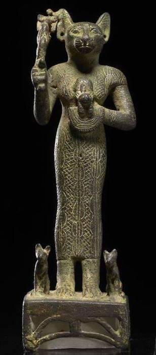 Какая египетская богиня изображалась с головой кошки: экскурс в древнюю мифологию
