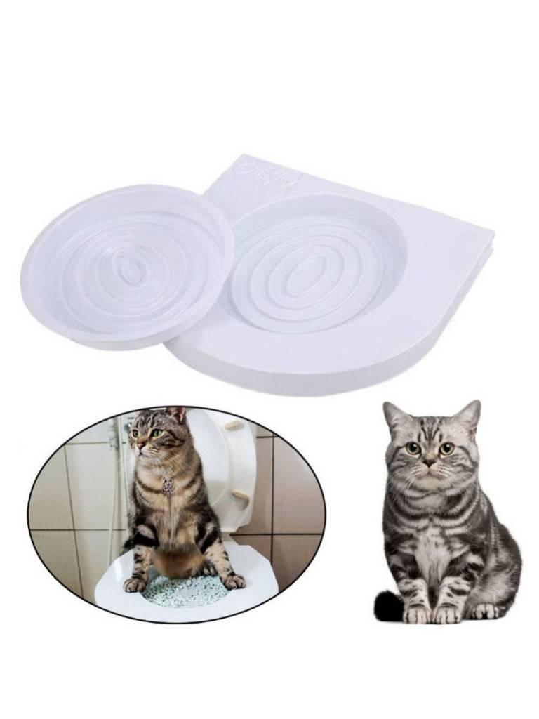 Насадка на унитаз для кошек: как использовать систему приучения, можно ли сделать накладку самому?