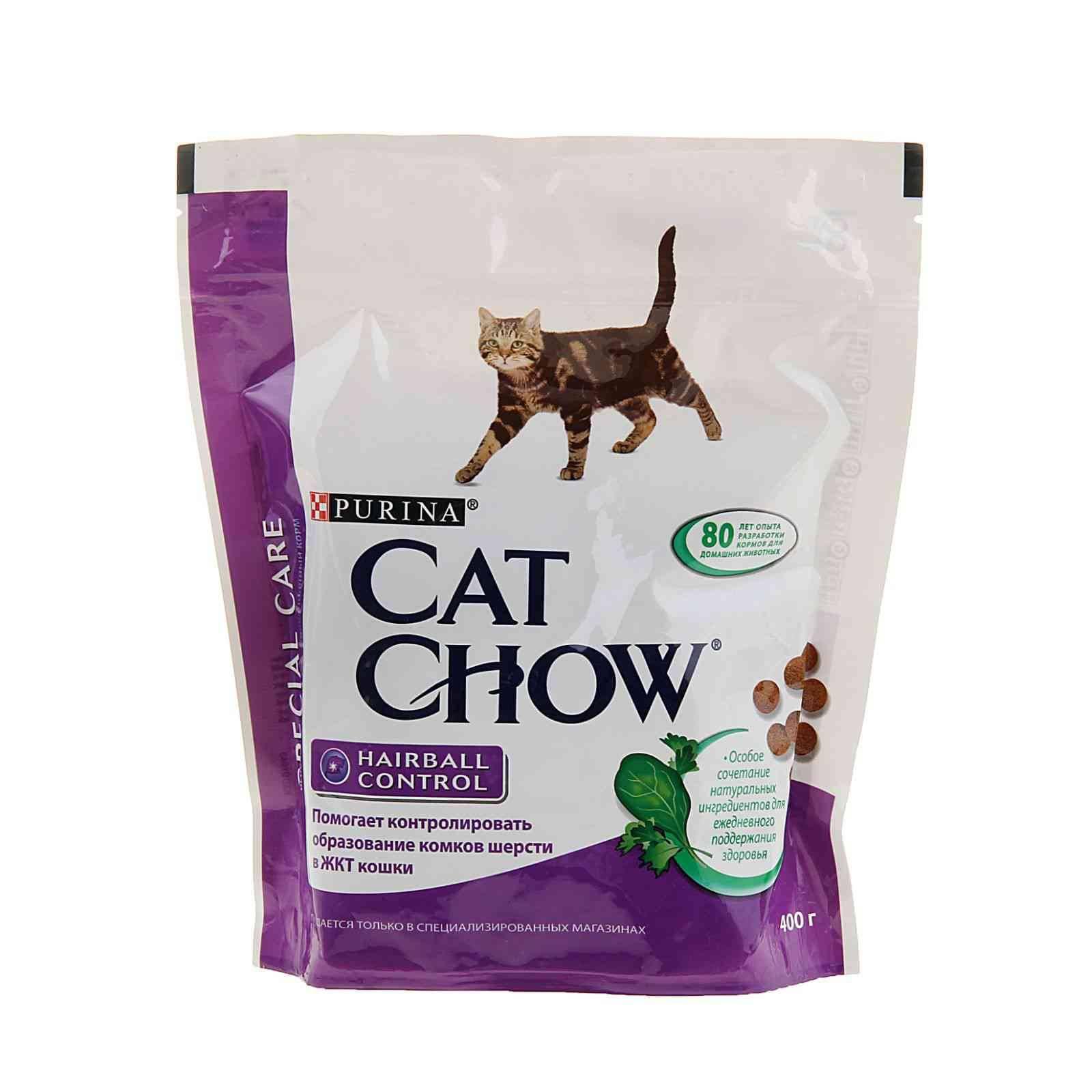 """Корм для кошек """"Кэт Чау"""": состав, питание для стерилизованных и кастрированных питомцев и котят"""