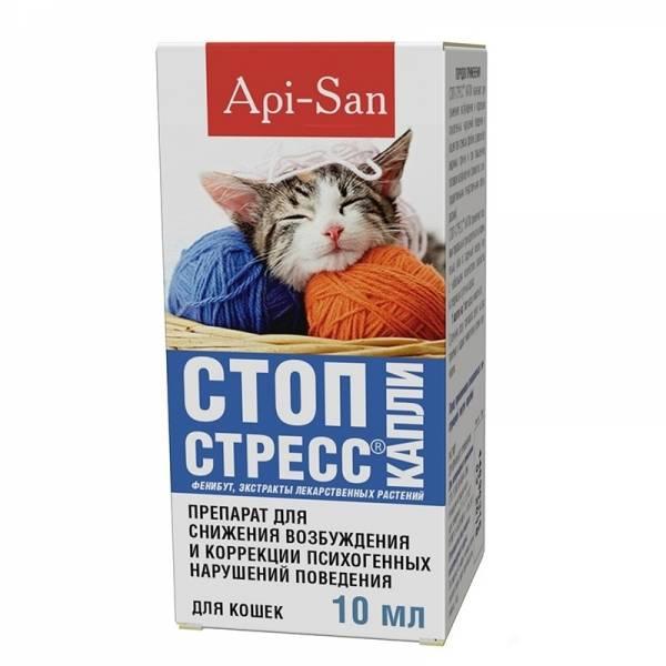 Стоп-стресс — инструкция по применению, зачем он нужен кошкам?