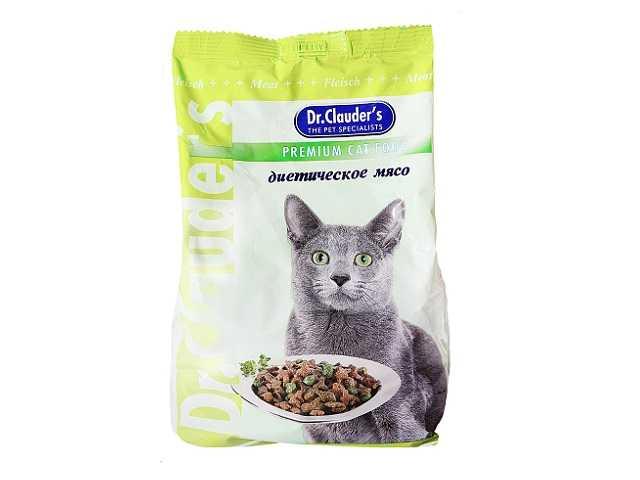 Влажный корм для кошек доктор клаудер отзывы ветеринаров  