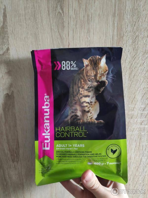 Как не допустить образования комков шерсти в желудке у кошек