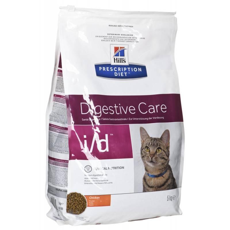 """Лечебный корм """"хиллс"""" для кошек с нарушением пищеварения, нуждающихся в диете"""