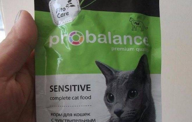 Корм probalance для кошек: отзывы, где купить, состав